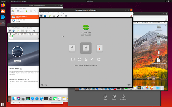 MacOS on Ubuntu with KVM/QEMU and OVMF/Clover EFI